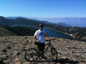 Lake and Tahoe on the Rim Trail 2009