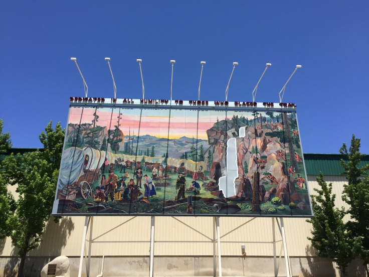 Mural at the Fairgrounds